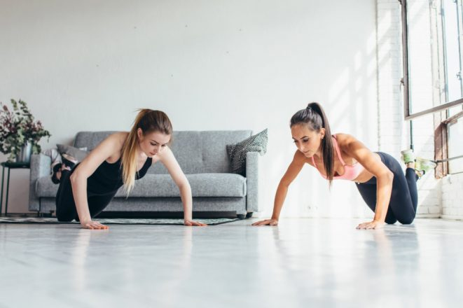 Tips Latihan Push up mencapai 100 kali tiap hari